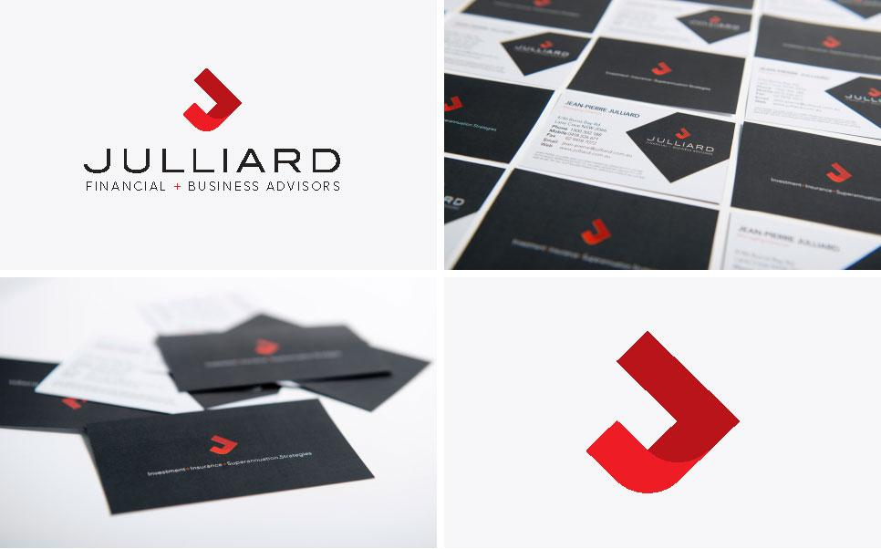 Julliard logo design and brand development