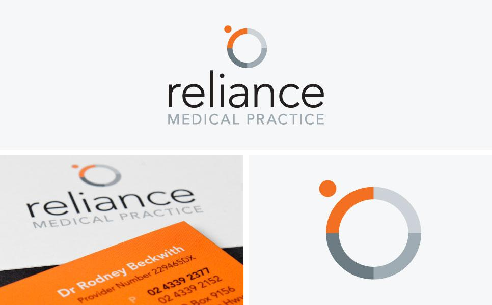 Reliance Medical Practice logo design