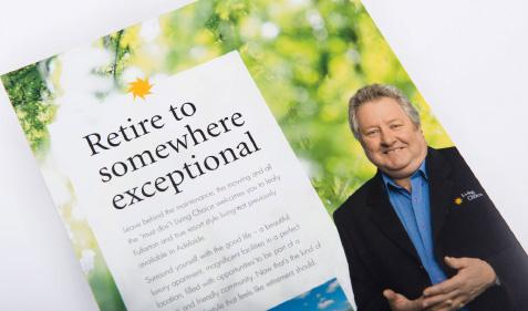 Retire to somewhere exceptional press ad
