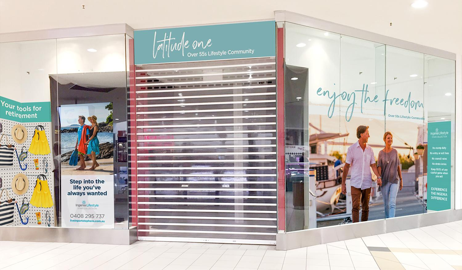 Latitude One – Salamander Bay Shopfront