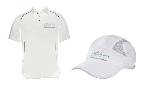 Latitude One Shirts and Caps