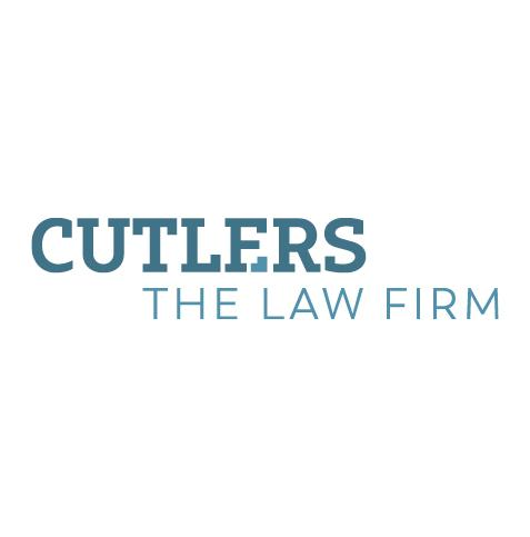 Cutlers The Law Firm Logo Design