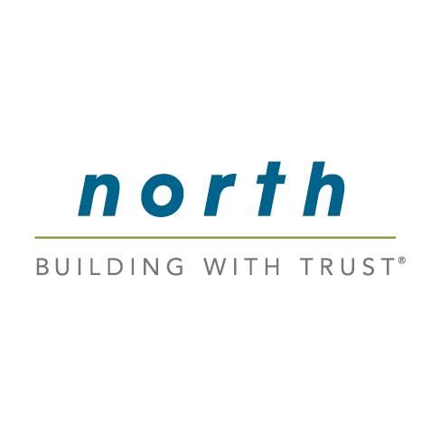 North Construction Logo Design
